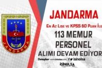 Jandarma 113 Memur Personel Alımı Devam Ediyor! Kimler Başvuru Yapabilir?