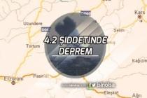 Kars'ta Korkutan Deprem 4.2 Şiddetinde Deprem Çevre İllerinden Hissedildi!