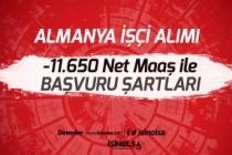 Almanya'ya 11.650 Tl Net Maaş ile Türkiyeden İşçi Alımı Yapılacak