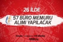 ÇŞB Tapu Kadastro 26 İlde  57 Büro Memuru Alımı Yapacak! Başvurular Başladı!