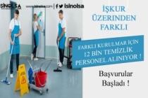İŞKUR Üzerinden Hastanelere, Farklı Kurumlara 12 Bin Temizlik Görevlisi Alımı Yapılacak!