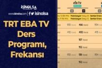 Uzaktan Eğitim Başlıyor! TRT EBA TV Ders Programı, Frekansı veYayın Akışı