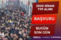 2020 Nisan TYP Toplum Yararına Programı Personel Alımı Başvuru Son Gün!