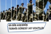 66 Bin Kişinin Askerlik Süresi Uzatıldı! Terhisler 1 Ay Sonra Yapılacak