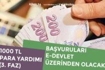 AÇSHB 1000 TL Para Yardımı İçin Başvurular E-Devlet Üzerinden Alınacak!