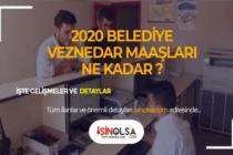 2020 Belediye Veznedarı Maaşları