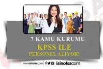 7 Kamu Kurumuna Memur, İşçi ve Personel Alımı Yapıyor!