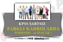 İki Belediye KPSS Şartsız Mühendis, Büro İşçisi, Mimar ve Personel Alımı Yapıyor!