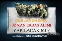 2020 Jandarma Uzman Erbaş Alımı Açıklaması Yapıldı Mı?