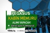 3500 TL Maaş İle Pegasus Kabin Memuru Alıyor! Deneyimli Deneyimsiz