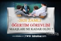 2020 Zamlı Öğretim Görevlisi Maaşları