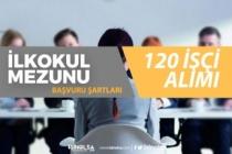 İŞKUR Aracılığı İle Kamuya En Az İlkokul Mezunu 120 İşçi Alımı Yapılacak!
