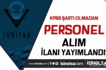 TÜBİTAK Ankara İçin KPSS Siz 8 Personel Alımı İlanı Yayımlandı