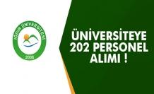 Üniversiteye 202 Personel Alım İlanı Yayımlandı!