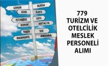 Ülke genelinde Turizm Meslek Alanında 779 Kişi Alınacak