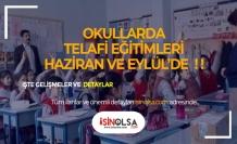 MEB Yazın Telafi Takvimini Hazırladı!