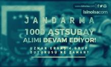 Jandarma 1000 Astsubay Alımı Devam Ediyor! 4. Grup Uzman Erbaş Duyurusu Bekleniyor!
