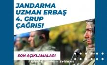 Jandarma Uzman Erbaş 4. Grup Çağrısı İçin Son Açıklamalar!