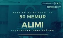 Tekirdağ Büyükşehir Belediyesi 50 Memur Alımı Başvuruları Sona Eriyor