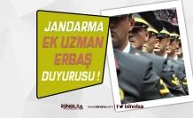 Jandarma Genel Komutanlığı Ek Uzman Erbaş Atama Duyurusu Yayımladı