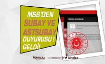 MSB DIş Kaynaktan Muvazzaf Subay ve Astsubay Adaylarına Duyuru