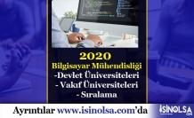 2020 Bilgisayar Mühendisliği Devlet-Vakıf Sıralamaları