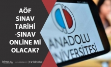 Açıköğretim Sınavı Ne Zaman! Aöf Ara Sınav Tarihi, Online mi Olacak?