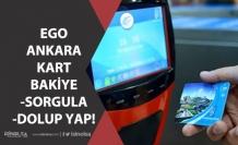 Ankara Kart Bakiyesi Sorgulama ve Ego Online Kart Dolumu Nasıl Yapılır?