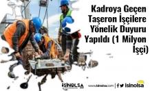 Kadroya Geçen Taşeron İşçilere Yönelik Duyuru Yapıldı (1 Milyon İşçi)