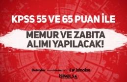 Belediye'ye KPSS 55 İle Memur ve KPSS 65 İle Zabıta Alımı Yapılacak