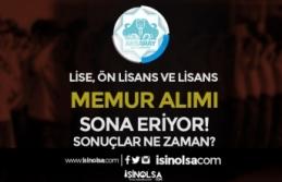 Aksaray Belediyesi Lise, Ön Lisans ve Lisans Mezunu Memur Alımı Sona Eriyor