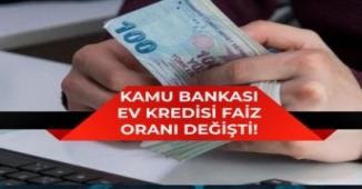 Vakıfbank, Halkbank Ziraat Bank Ev Kredisi Faiz Oranı Değişti!