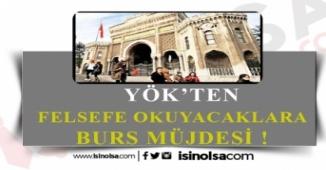 YÖK'ten Felsefe Okuyacaklara 800 TL Burs!