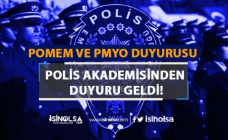 PA Polis Memuru ve Komiser Yardımcısı Adaylarına ( PMYO ve POMEM) Duyuru Yaptı!