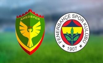 Amedspor'dan Şoke Eden Fenerbahçe Maçı Kararı
