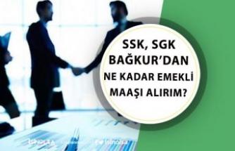 SSK, SGK Bağkur'dan Ne Kadar Emekli Maaşı Alırım?