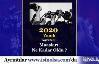 2020 Gazeteci Maaşları Ne Kadar? Şartlar ve Çalışma Saatleri