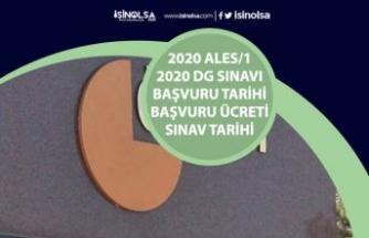 2020 ALES/1 Başvuru Tarihi Nedir? Başvuru Ücreti, DGS Geç Başvuru Tarihi ve Sınav Tarihleri!