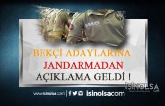Bekçi Adayları Dikkat! Jandarma için Bekçilik Açıklaması!