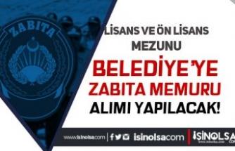 Karatay Belediyesi Lisans ve Ön Lisans Mezunu Zabıta Memuru Alımı Yapacak!