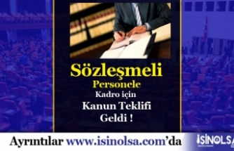 MHP'den Sözleşmeli Personel Kadro Teklifi Müjdesi!