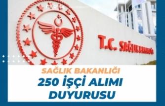 Sağlık Bakanlığı İstanbul kamu Hastaneleri 250 İşçi Alımı Yedek Duyurusu