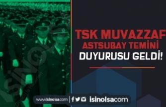 Türk Silahlı Kuvvetleri Dış Kaynaktan Muvazzaf Astsubay Aday Temini Duyurusu Yaptı
