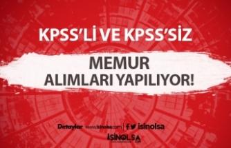 2020 Ağustos ayında KPPS ve KPPS şartı olmadan alımlar devam ediyor