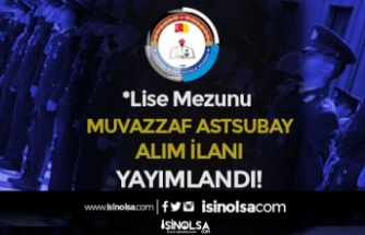 JSGA Lise Mezunu 47 Sağlık Muvazzaf Astsubay Alım İlanı Yayımlandı