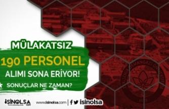 Osmangazi Üniversitesi Mülakatsız 190 Personel Alımı Sonuçları Ne Zaman?