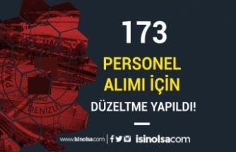 Pamukkale Üniversitesi 173 Personel Alımı İçin Düzeltme İlanı Yayımlandı