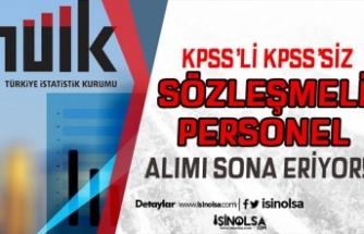 Türkiye İstatistik Kurumu Sözleşmeli 7 Personel Alımında Son Gün