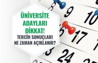 Üniversite Adayları Dikkat Son Saatler! ÖSYM 2020 YKS Tercih Sonuçları Ne Zaman Açıklanacak?