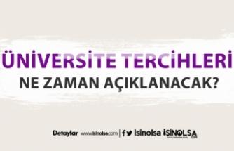 Üniversite ( YKS ) tercih sonuçları ne zaman açıklanacak?